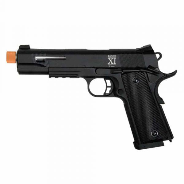 Pistola Rudis Secutor 1911 XI Airsoft GBB Blowback Full Metal