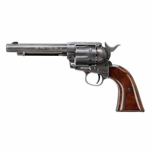 Revólver Colt Single Action SAA .45 Co2 4,5mm + Coldre