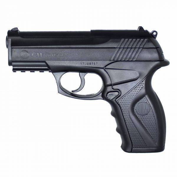 Pistola Airgun C11 4.5mm Co2 Wingun Rossi + Coldre