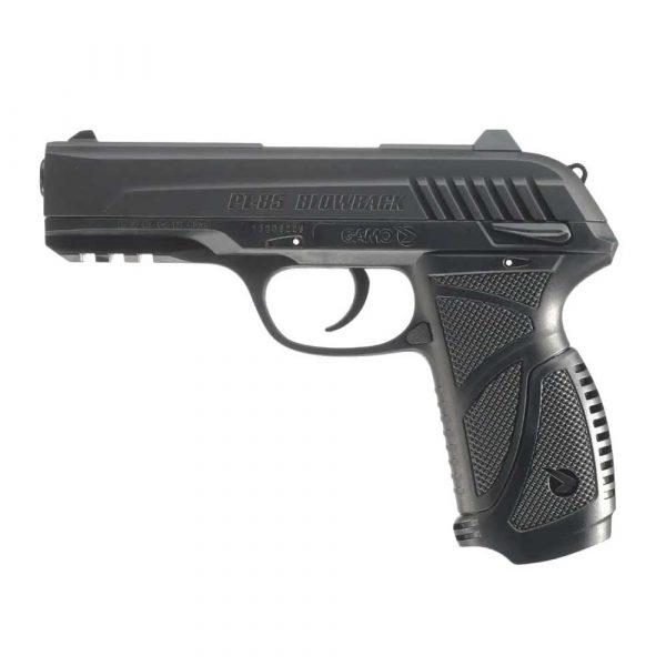 Pistola Chumbinho Gamo PT-85 Co2 Blowback + Coldre
