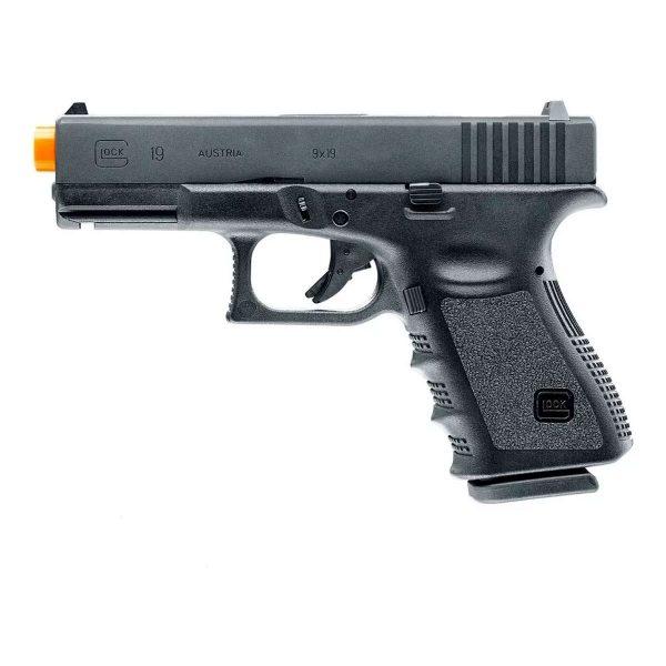 Pistola Airsoft Co2 Glock G19 Umarex 6mm + Coldre