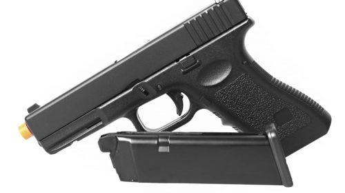 Pistola de Airsoft Glock G18 HFC Metal GBB 6mm + Coldre