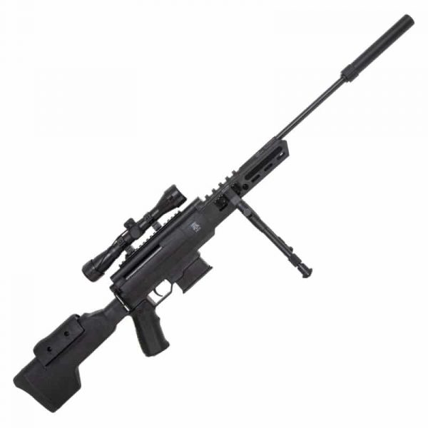 Carabina de Pressão Sniper Black Ops 5,5mm Gás Ram