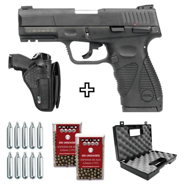 Pistola Airgun 24/7 G2 Co2 Blowback 4,5mm KWC + Coldre