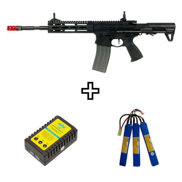 Rifle Airsoft CM16 Raider L 2.0E G&G Elétrico 6mm Kit