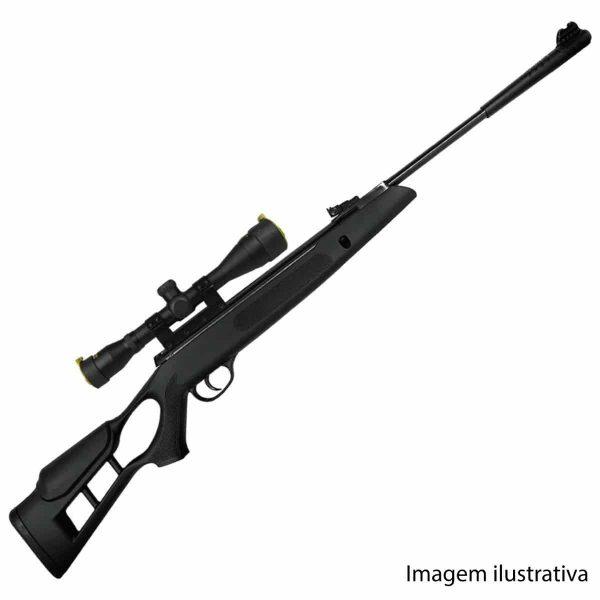 Carabina de Pressão Hatsan Striker Edge Gás Ram 5,5mm (.22)
