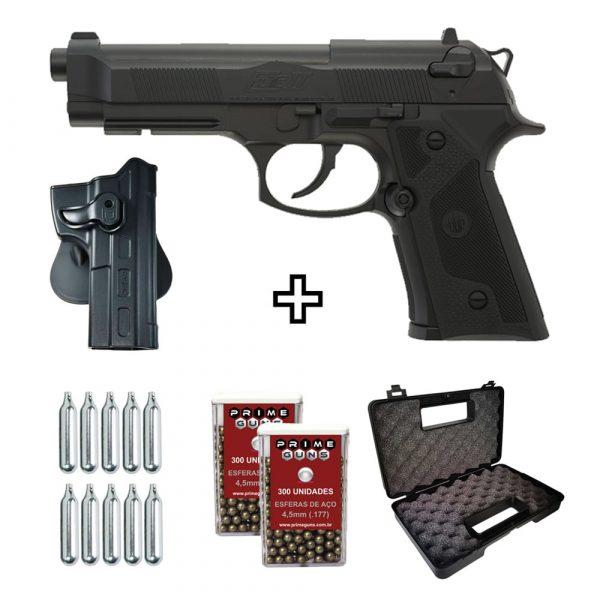 Pistola Airgun Beretta Elite II Co2 4,5mm Umarex + Coldre
