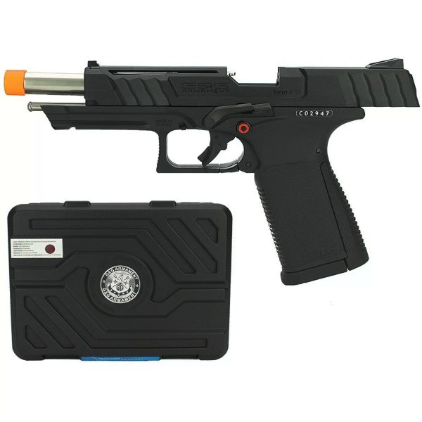 Pistola G&G GTP9 Blowback GBB Airsoft 6mm