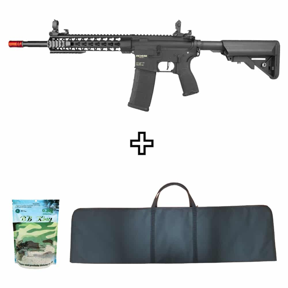 Rifle Neptune Keymod 10″ M4A1 Airsoft 6mm + Capa