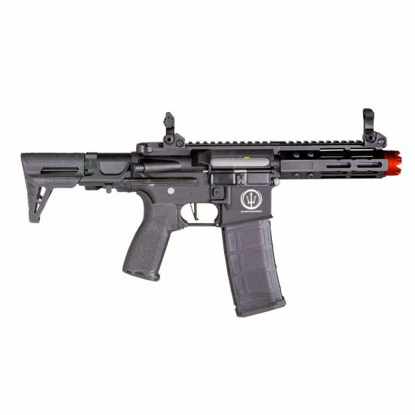 Rifle Neptune PDW 5.5″ M4 Metal 6mm + Bateria + Capa