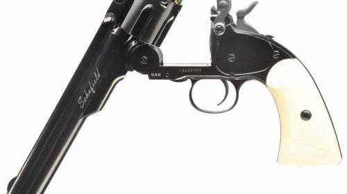 Revólver Airgun Schofield Plated Steel Co2 Full Metal + Capa