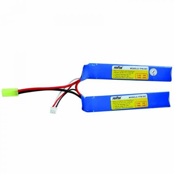 Bateria Lipo 7.4v 1500mAh 15c FFB-001 Feasso