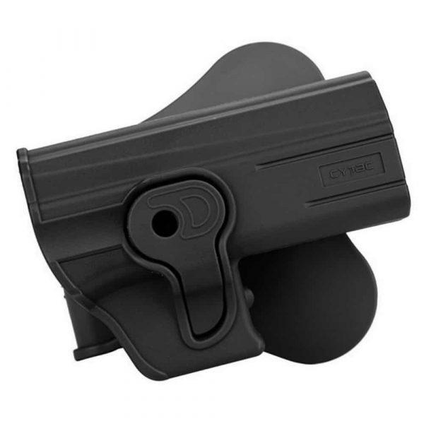 Coldre Externo Cytac para Pistolas CZ Duty CZ 75 P07 e P09