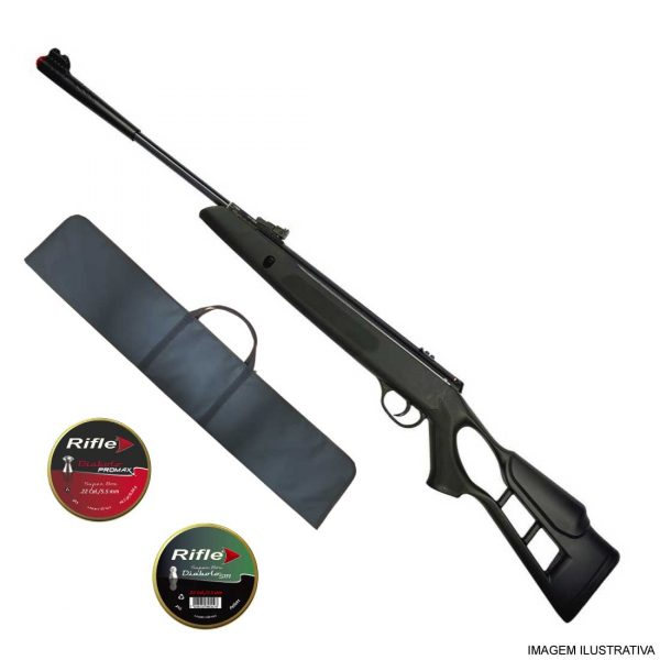Carabina de Pressão Hatsan Striker Edge 5,5mm .22 + Capa