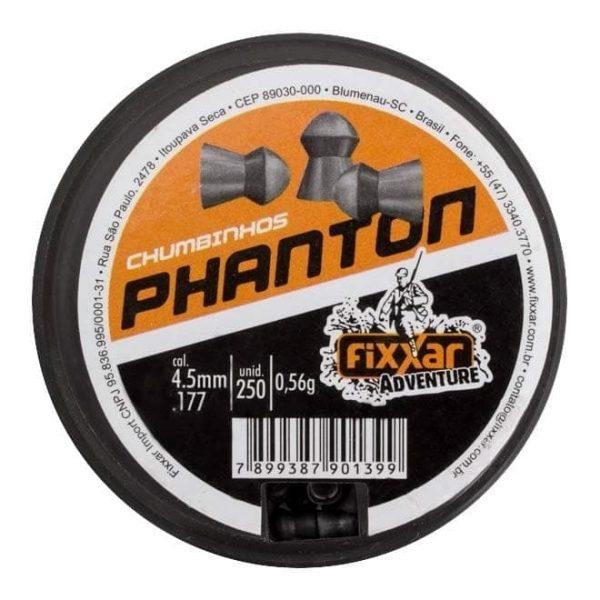 Chumbinho Fixxar Phanton 4.5mm .177 250unid