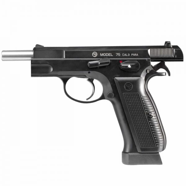 Pistola CZ 75 ASG Airgun Blowback Full Metal 4,5mm Co2
