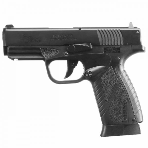 Pistola Airgun Bersa BP9CC Blowback Metal 4,5mm Co2