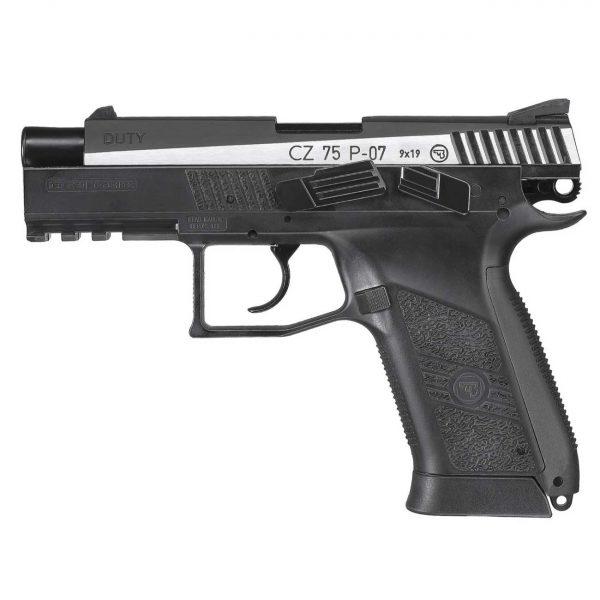 Pistola CZ 75 P07 Duty Dual Tone ASG CO2 4,5mm