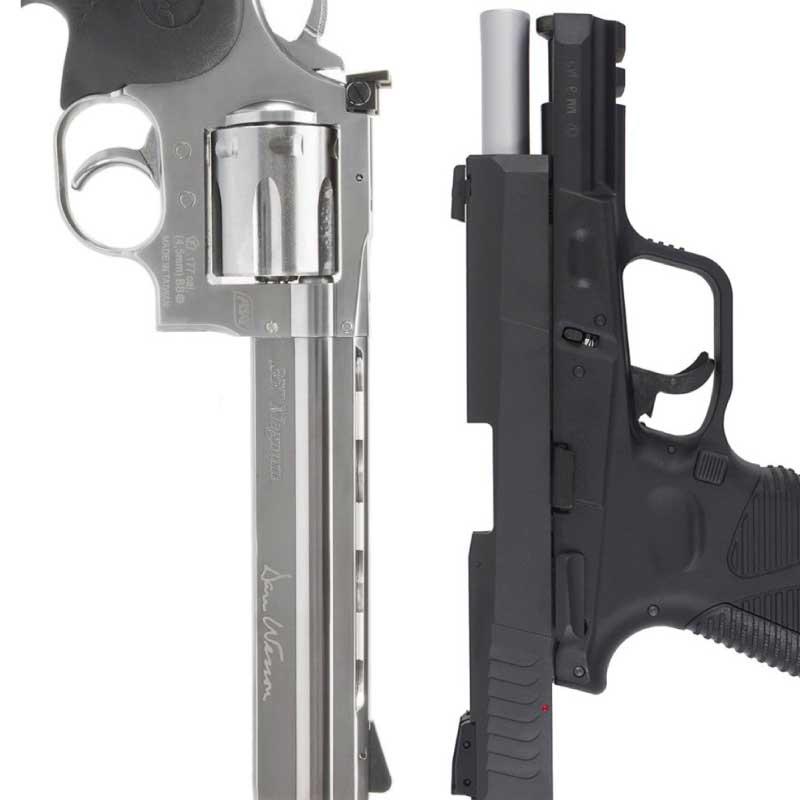 Armas Curtas (Pistola e Revólver)