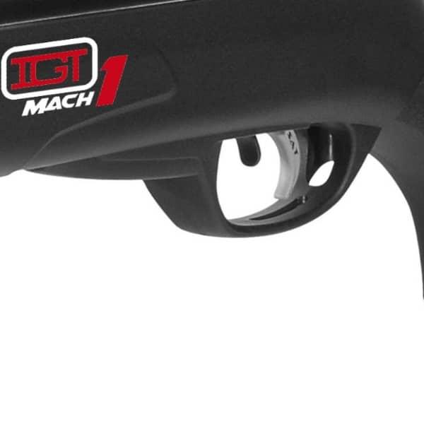 Carabina de Pressão Gamo Black Fusion IGT Mach 1 Cal. 5,5mm