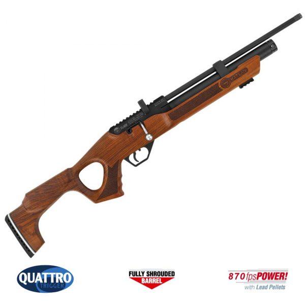 Carabina PCP Hatsan Flash Wood Chumbinho .25 6,35mm