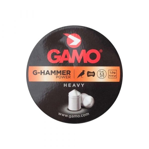 Chumbinho Gamo G-Hammer Power 4,5mm .177 200un