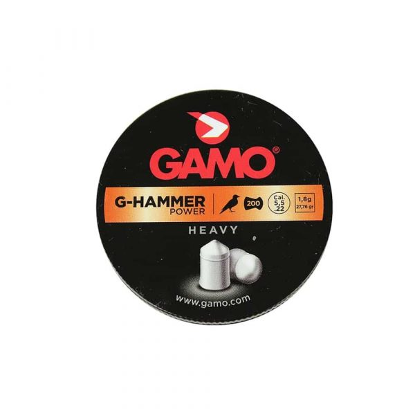 Chumbinho Gamo G-Hammer Power 5,5mm .22 200un