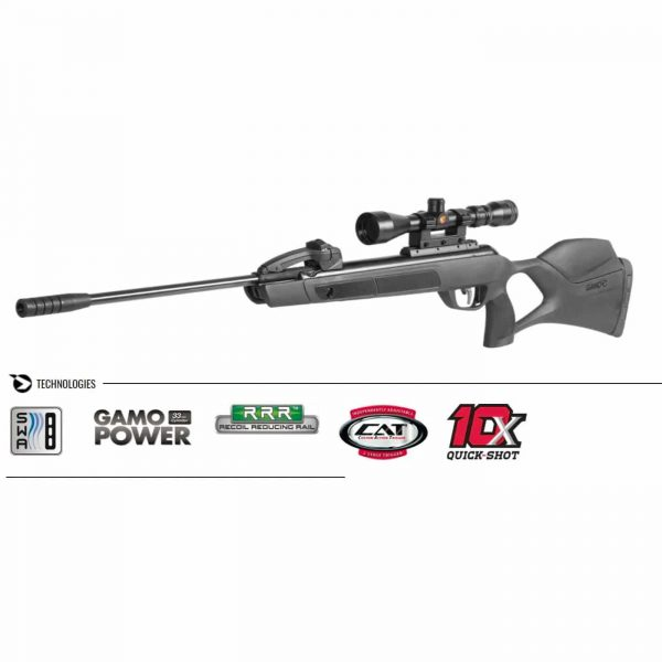 Carabina Gamo G-Magnum 1250 Replay 10x 5,5mm + Luneta