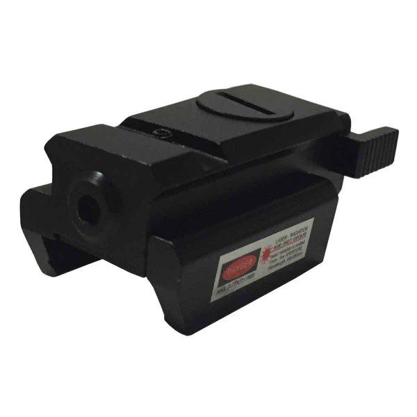 Mira Laser para Armas e Pistola Airsoft e Airgun 20mm