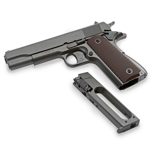 Pistola Chumbinho 1911 KWC CO2 Slide Metal 4,5mm + Magazine
