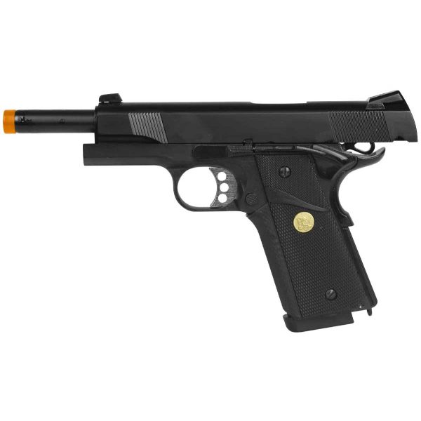 Pistola Airsoft 1911 Double Bell 728 Blowback Metal
