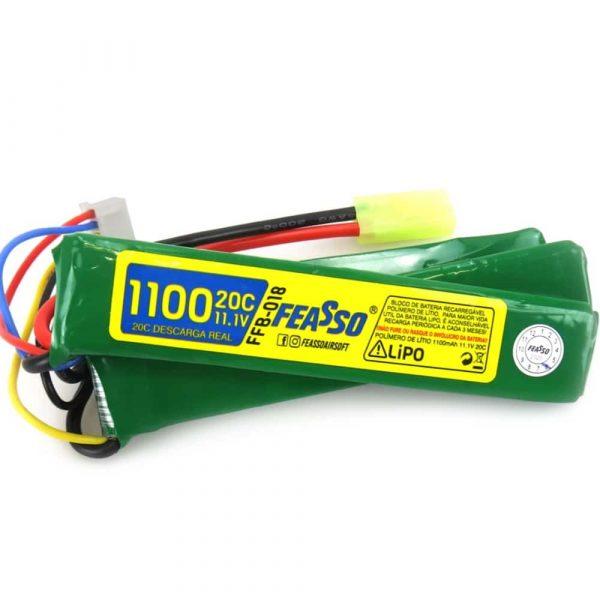 Bateria Lipo 11.1v 1100mAh 20c FFB-018 Feasso