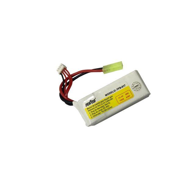 Bateria Lipo 11.1v 1300mAh 25c FFB-017 Feasso