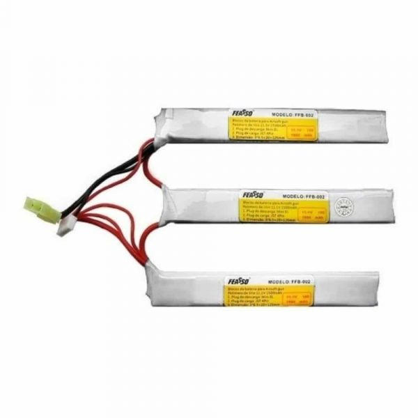 Bateria Lipo 11.1v 1500mAh 25c FFB-012 Feasso