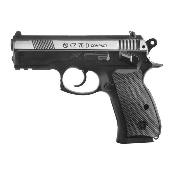 Pistola Airgun CZ75D Compact Dual Metal Co2 4,5mm