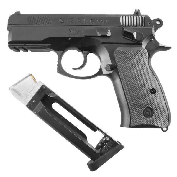 Pistola Airgun CZ-75D Compact Co2 4,5mm + Coldre