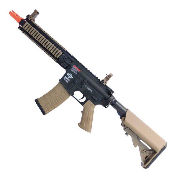 Rifle Airsoft CM18 Mod 1 G&G M4A1 RIS Black/Tan 6mm AEG